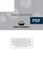 Catalog Craciun FabulousBaskets 2012