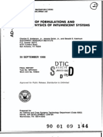 A Study of Formulations and Thermophysics of Intumescent Systems