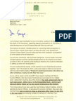 Aidan's letter to Cllr George Adamson regarding Beecroft Road development proposals
