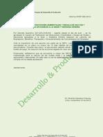 Infracciones Ambientales y Escala de Multas, Gran y Mediana Minería