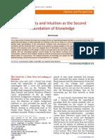 Frecska E-Nonlocality and Intuition