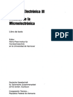 Curso de  Electrónica III