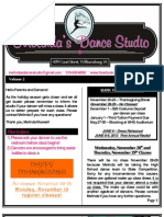 MDS Newsletter November 2012