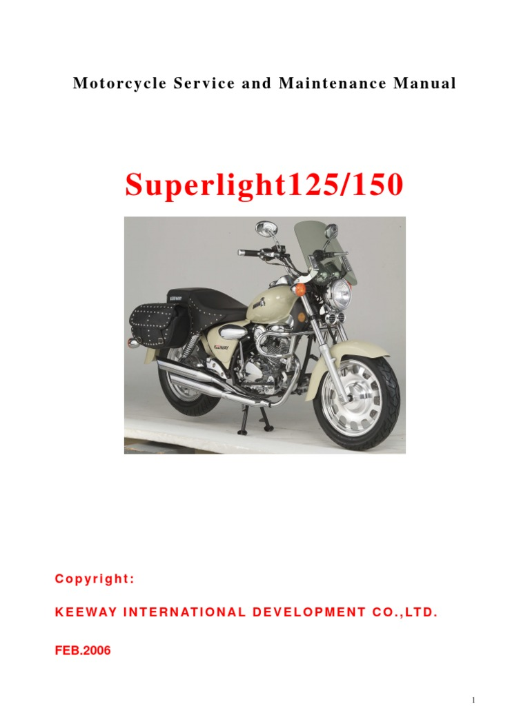 Manual Taller Superlight 125 Cc Idioma Ingles Internal border=