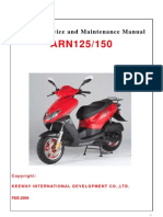 Manual Taller ARN 125 CC (Idioma Ingles)