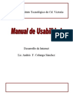 3.- Manual de Usabilidad