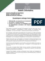13-03-2012 Guadalajara Entrega Transvales