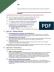 Veteran Affairs Student Checklist