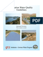 Irrigation Wter Quality Guidlines