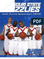2008-2009 Grizzly Basketball Media Guide