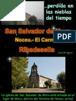 HEVIA ALVAREZ J Mª Pinturas de San Salvador de Moro parroquia del Carmen Ribadellesa