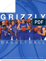 2009-2010 Grizzly Basketball Media Guide