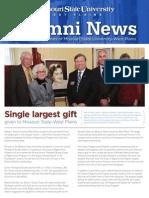 Alumni Newsletter 2012