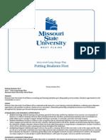 Missouri State University-West Plains Long-Range Plan 2012