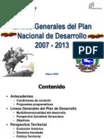 Lineas Generales Desarrollo 2007-2013