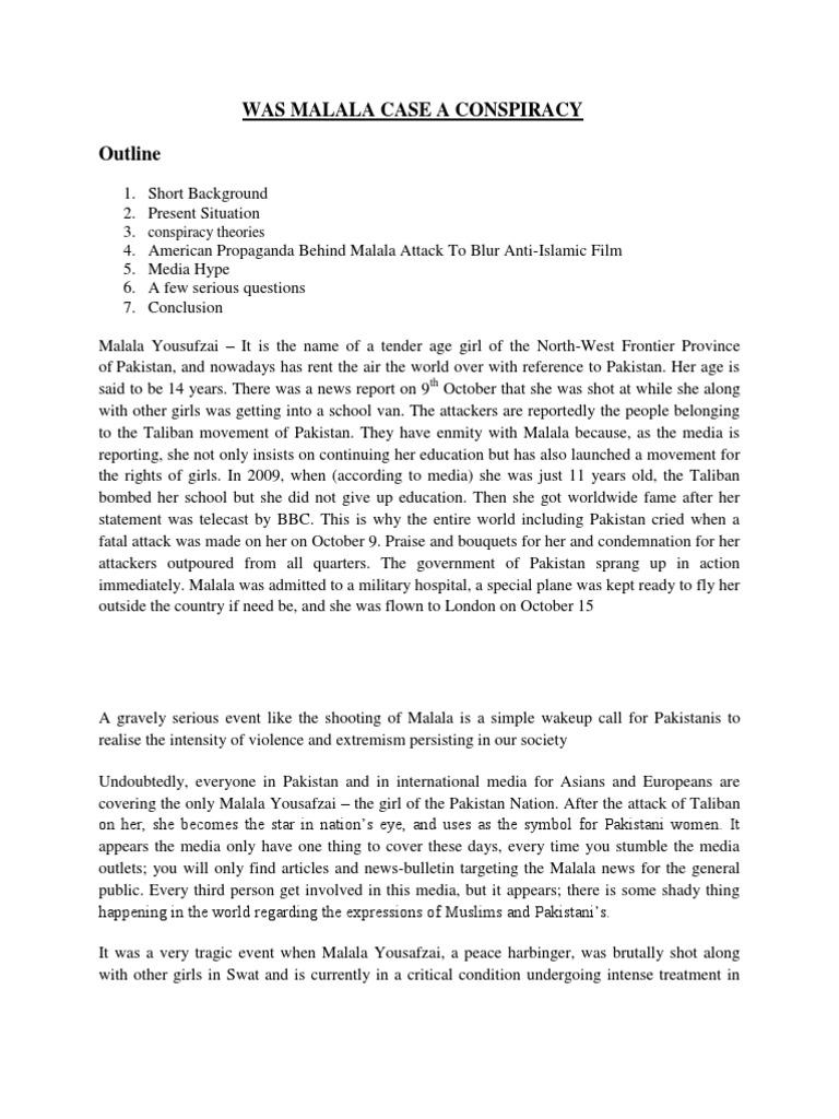 essay on malala yousafzai in 100 words