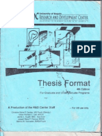 UB Thesis Format