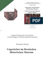 Ungarisches im Bernischen Historischen Museum - Germann Georg
