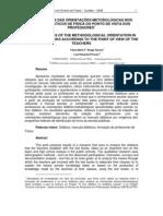 3- SIGNIFICADOS DAS ORIENTAÇÕES METODOLÓGICAS NOS