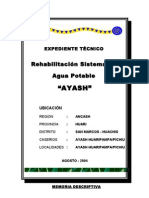 Expediente Técnico AYASH