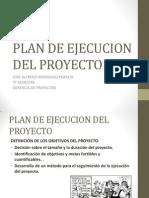 Plan de Ejecucion Del Proyecto