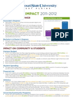 2012 Economic Indicators Flyer