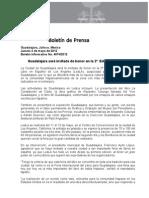03-05-2012 Guadalajara será invitada de honor en la 2ª  Edición de LeáLA
