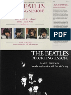 Mark Lewisohn - The Complete Beatles Recording Sessions