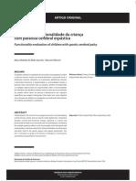 avaliação da funcionalidade da criança pc espástica