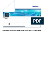 SyncMaster 591S793S793DF795DF797DF997DF793MB795MB