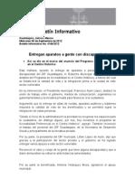 04-09-2012 Entregan Aparatos a Gente Con Discapacidad