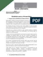 05-09-2012 Guadalajara Apoya a Discapacitados