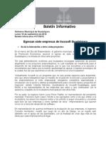 18-09-2012 Egresan Siete Empresas de Incusoft Guadalajara