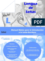 MANUAL SEÑAS LECTOESCRITURA