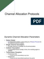Channel Allocation Protocols