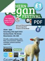 Northern Vegan Festival 2013