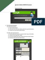 Penggunaan Aplikasi ABSENSI Karyawan