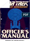 Star Trek - TNG Officers Manual