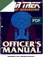 Star Trek - TNG Officers Manual