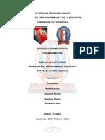 Principios Del Entrenamiento Deportivo Uta.