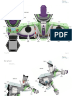 Buzz Lightyear Papercraft Photo