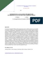 Experiencias en la Evaluación e Implementación de Luminarias de 100 W de Sodio para Alumbrado Público