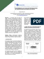 Metodología para Determinar las Causas de Perturbaciones de Tensión en Instalaciones Eléctricas