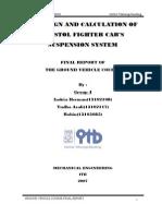 Report Example - Car Suspension Design