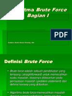 Algoritma Brute Force Bagian 1