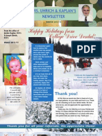 College Drive Dental Winter 2012 Newsletter