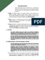 16 aula - Noções sobre atos ilícitos, Abuso de Direito e Responsabilidade Civil