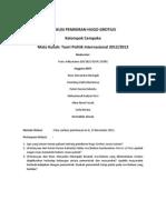 Essay Report Diskusi Hugo Grotius Kelompok Cempaka