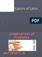 Maternal Complications