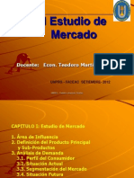 (1)Estudio de Mercado Clase 14 Set.
